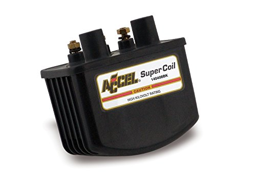 (ACCEL (ACC 140408BK) Single Fire Black Super Coil)
