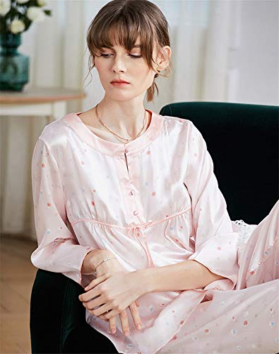 Rose Yojdtd Pyjama Pêche En Soie w7qxnZSXH