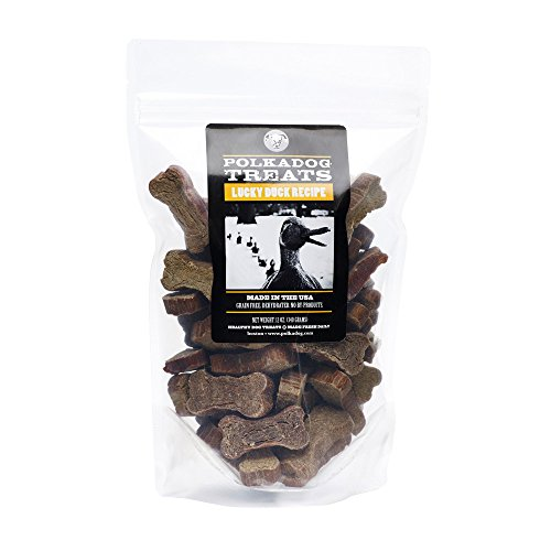 Polka Dog Bakery Lucky Duck, Dog Treats, 12Oz