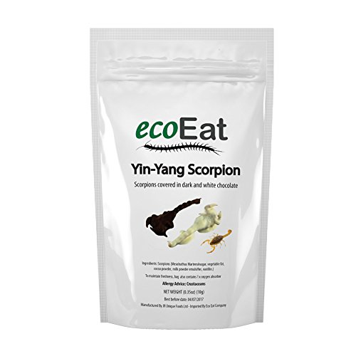 ecoEat Yin-Yang Chocolate Covered Scorpions (Crunchy Critters)