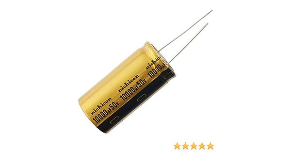 6 or 12 pcs Nichicon FG Capacitors 50v 0.1~1000uf Audio Grade