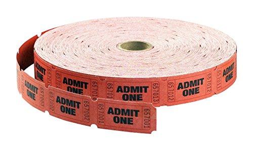 red admit one tickets - 8