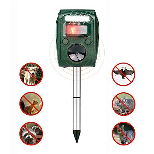 FRYZOO Ultrasonic Pest Animal Expeller Outdoor Solar