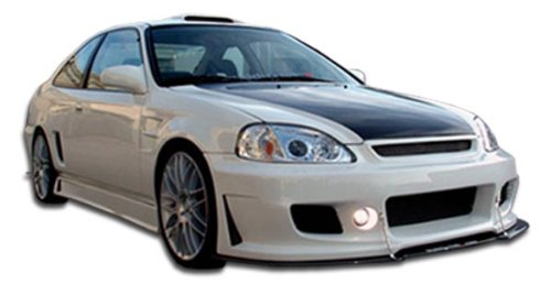 Duraflex Replacement for 1999-2000 Honda Civic 2dr / 4DR B-2 Body Kit - 4 Piece