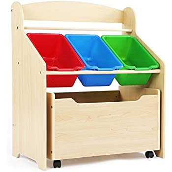 Amazon Com Step2 Lift And Hide Bookcase Storage Chest For Kids Durable Plastic Toy Box
