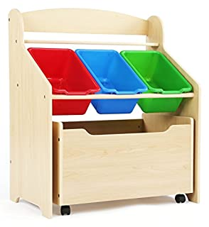 Tot Tutors Kids' Store-All Unit, Natural Finish (B003R50PMS) | Amazon Products