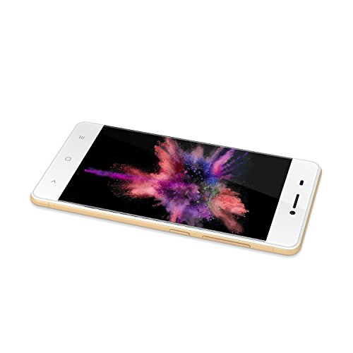 KEN XIN DA V6 Dual SIM Unlocked Smartphone 4.5 Inches Display Android 7.0 8G+1G Memory GSM 3G Cell Phones (Gold) … by KEN XIN DA (Image #3)