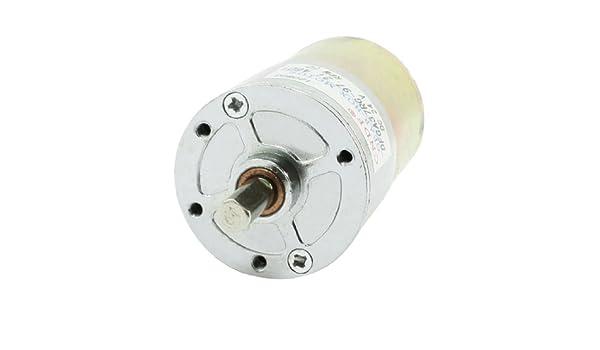 DFGA37RG-57.8i Cylinder Shape DC 24V Speed 50 RPM Geared Motor