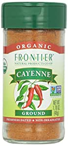 Frontier Organic Cayenne Spice - Ground - 1.7 Ounces