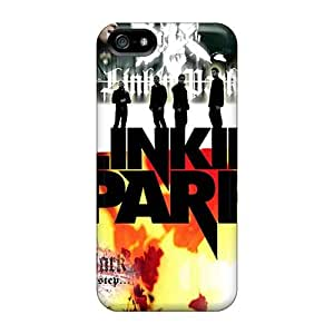 Excellent Cell-phone Hard Covers For Iphone 5/5s (TuT12781XxhX) Provide Private Custom Realistic Linkin Park Band Image