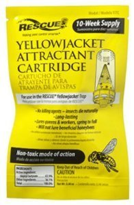 Rescue Yellowjacket Attractant Cartridge #YJTC (Pack of 3)