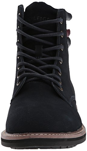 Mens Tommy Halle Hilfiger Boot Combat Medium 9 Navy US vw5FRwx6q