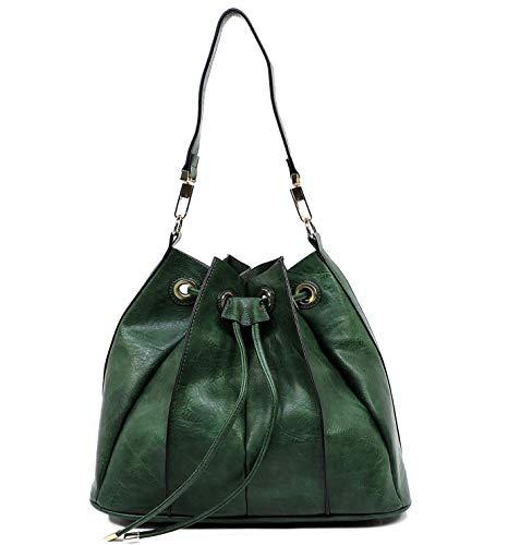 Crossbody Republic Pull Hobo New Handbag Drawstring Bucket Olive w out nxqOq1TUwB