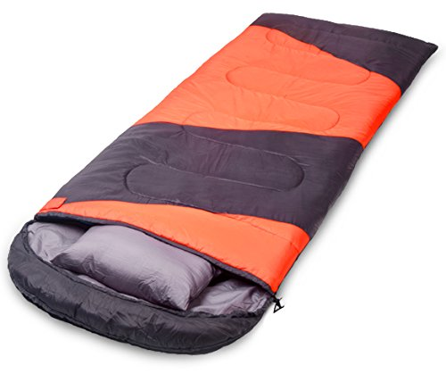 X CHENG Sleeping Bag ECO Friendly Materials Waterproof Machine Washable 40 Available Perfect Camping Hiking Color Blocking Comes Complimentary Gift