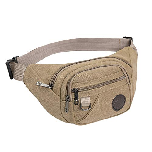 (❤️ Sunbona Clearance Waist Packs for Travel Nile Man Fashion Belt Bag Fanny Packs Multifunction Outdoor Waterproof Chaos Bum)