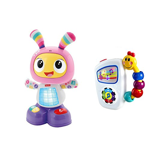 Learning toys bundle: Baby Einstein Take Along Tunes Toy and Fisher-Price Dance & Move BeatBelle