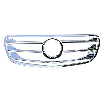 Tapacubos delanteros de alto volteo ABS cromado para el exterior del motor 8 piezas para Mercedes-Benz Vito W447 2014-2018: Amazon.es: Coche y moto