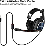 Replacement Astro A10 A40 Cable, 2.0M A40 Inline