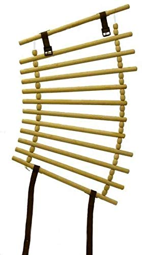Wooden Neck Cradle - Wooden - 17'' by Partrade Trading Corporation