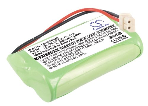 VINTRONS 1500mAh Battery For Sony NTM-910, NTM-910YLW Baby Nursery Monitor, Digi-Tech CS-BPT51MB
