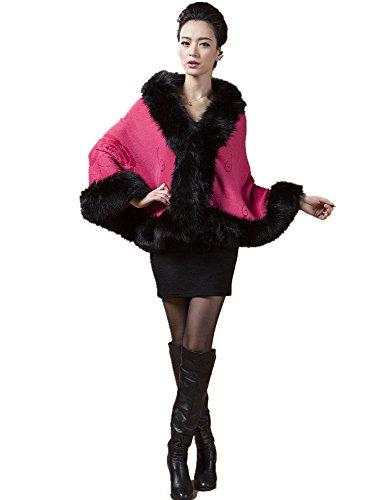 Taille rouge Charmly Manteau Unique Rose Femme qwZTgA