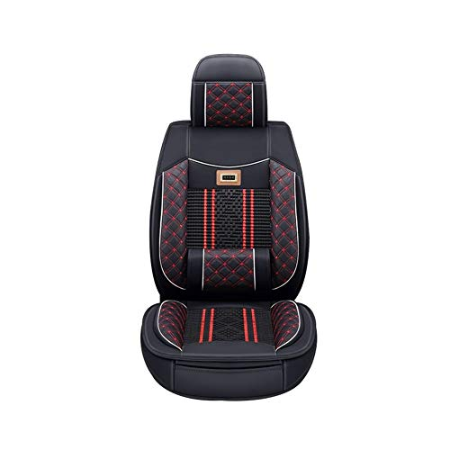 (Automotive Seat Cushions Car seat Cushion Linen seat Cover Good Breathability and Comfort Environmentally Friendly and Tasteless Multi-Color Optional (Color : Black))