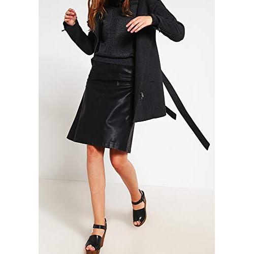 Even&Odd Wollmantel für Damen in Schwarz, Grau oder Rot