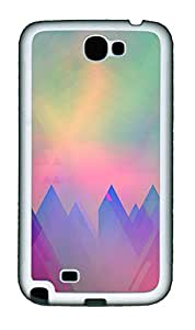 Samsung Note 2 Case patterns abstract 97 TPU Custom Samsung Note 2 Case Cover White