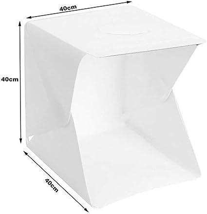 Carpa fotográfica portátil Estudio Regulable Caja de luz Carpa ...