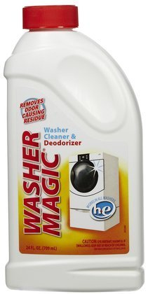 Washer Magic Washing Machine Cleaner & Deodorizer-24 oz (Quantity of 6)