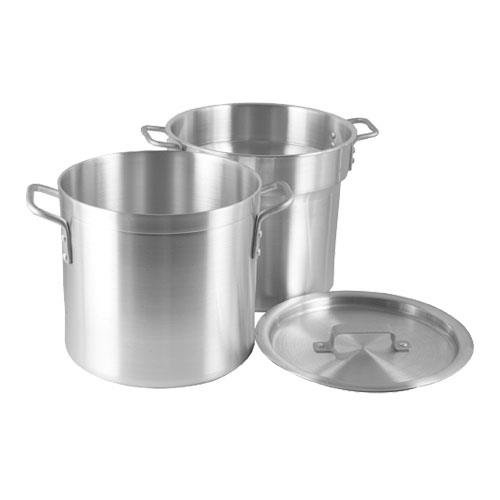 Quart Aluminum Double Boiler - Crestware 12-Quart Heavy Weight Aluminum Double Boiler with 11 Quarter Inset Capacity