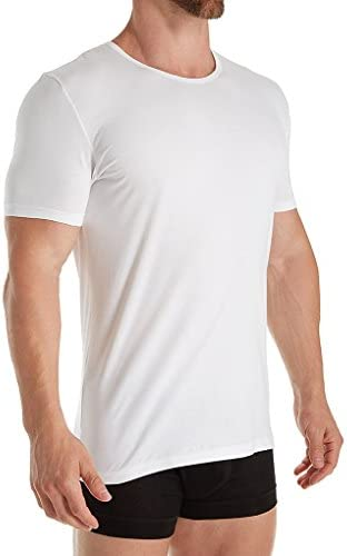 1721461 Zimmerli Pure Comfort Cotton Stretch Crew Neck T-Shirt