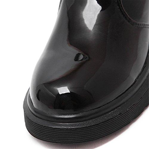 Zapatos La 39 5 Nvxie Inferior Parte Salvajes uk Eur40uk7 Martin Cómodo De Señoras Gruesos Botas 6 Grueso 6 Eur Nuevo Mujeres Tacón ww7qvA