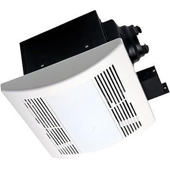Airzone fans pa900vle premium ultra quiet exhaust - Ultra quiet bathroom exhaust fan with light ...