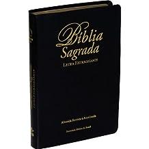 Bíblia Sagrada - Letra Extragigante - Almeida Revista e Atualizada SBB