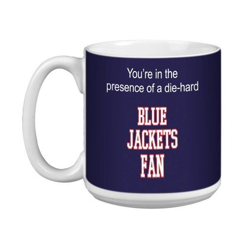 Tree-Free Greetings XM28176 Blue Jackets Hockey Fan Artful Jumbo Mug, 20-Ounce ()