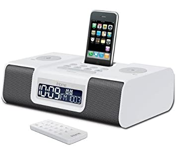 ihome ip9 dock and radio alarm clock white surgestrip e series rh amazon co uk ihome ip92b7 ihome ip99