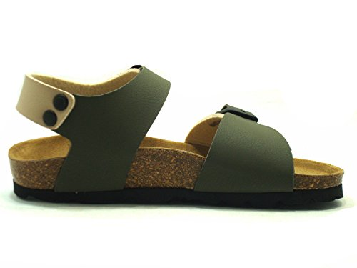 GRÜNLAND Luce Sb0901 - Sandalias de vestir para niño Begie oliva