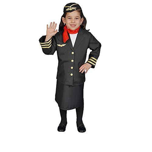 Flight Attendant Costume Set - Medium 8-10]()