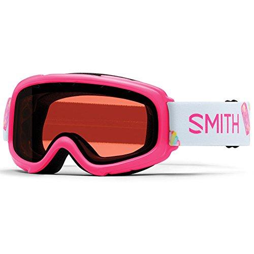 SMITH Gambler Pink Sugarconecone Junior Snowboard Goggle