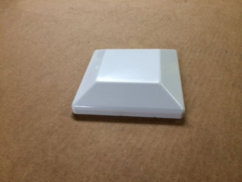 10 Pack White Fence Post CAPS for Treated Wood 6X6 (5 5/8