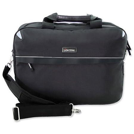Lightpak 46112 schwarz aus Polyester Laptoptasche SIERRA