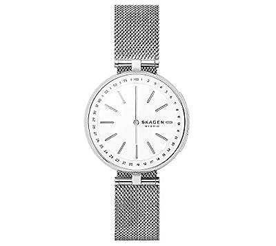 Skagen Women's Silvertone Signatur Hybrid Smartwatch from Skagen