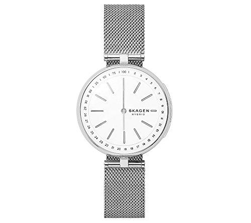 Skagen Women's Silvertone Signatur Hybrid Smartwatch