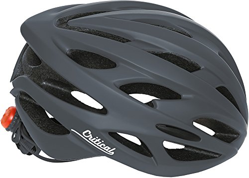 Critical Cycles Adult Silas Bike Helmet With 24 Vents, Matte Graphite, One Size