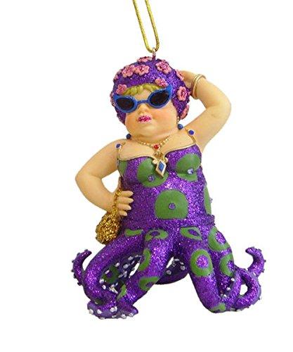 December Diamonds Fat - December Diamonds Miss Fran III Octopus Mermaid Christmas Ornament 5590379