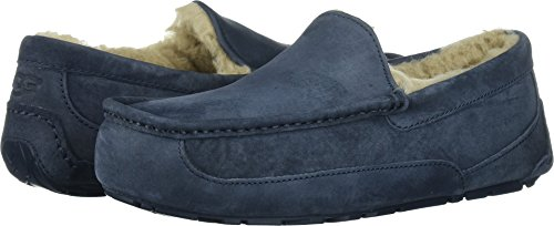 UGG Men's Ascot Moccasin, New Navy, 16 M US