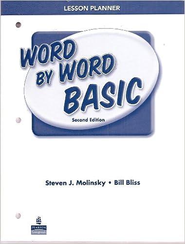 Livres italiens téléchargement gratuit pdfWord by Word Basic Picture Dictionary Lesson Planner PDF DJVU B004HMSWX4