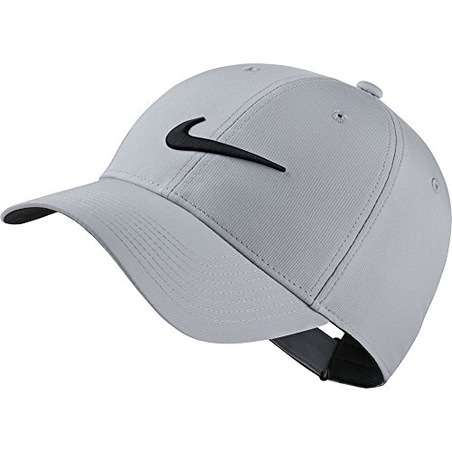 NIKE Legacy 91 Tech Adjustable Golf Cap Hat (Wolf (Legacy Sports Hat)