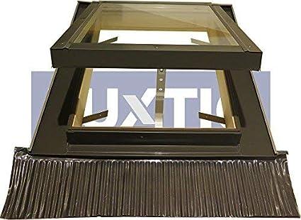 Apertura Tipo Vasistas Velux//Accesso al Tetto Lucernario per Tetto con Triplo Vetro Antisfondamento 55 x 70 Base x Altezza
